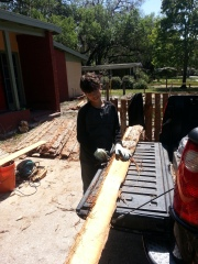 Ryan making fence